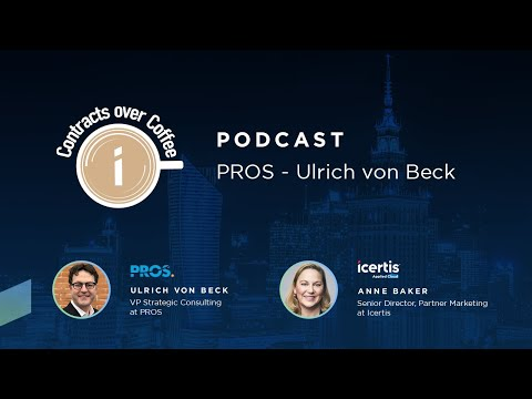 Contracts over Coffee with PROS and Ulrich von Beck