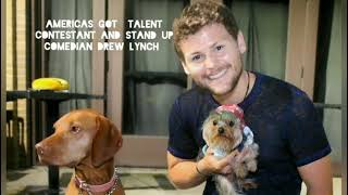 Americas Got Talent Contestant Drew Lynch meets Teenie Tim drewlynch americasgottalent teenietim