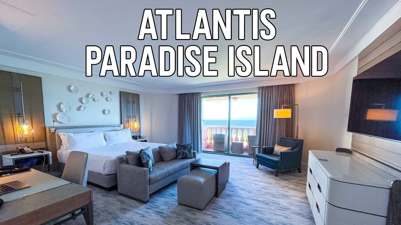 Tour Of 2 Bedroom Regal Suite In Royal Tower At Atlantis Paradise Island In The Bahamas Youtube