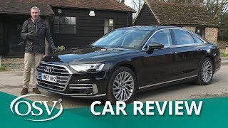 Audi A8 2018 The ultimate in luxury, technology and refinement