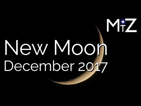 New Moon December 18th, 2017 - True Sidereal Astrology