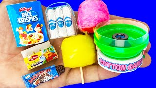 12 DIY MINIATURE FOOD AND SWEETS REALISTIC HACKS AND CRAFTS FOR BARBIE