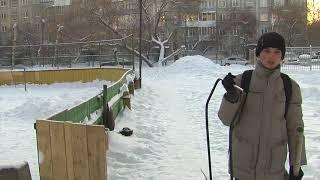 Безледный досуг в хоккейных коробках омских дворов