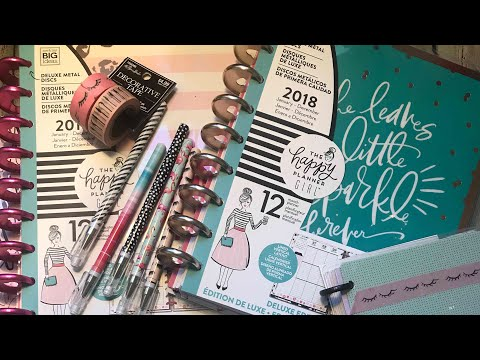 """new happy planners """"happy planner girl"""" and some accessories haul"""
