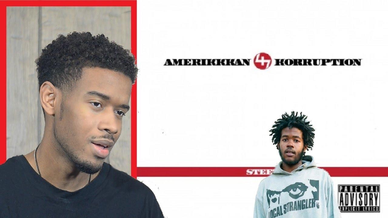 Amerikkkan Korruption Album Cover