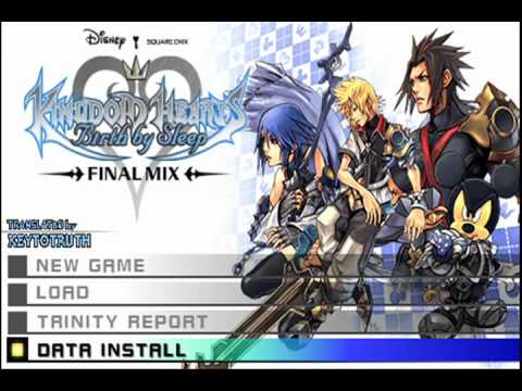 Kingdom hearts birth by sleep final mix psp iso free