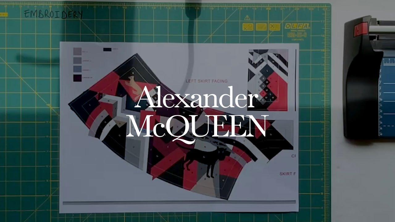 McQueen Creators | Patchwork tutorial with Ami Waring, Alexander McQueen design team