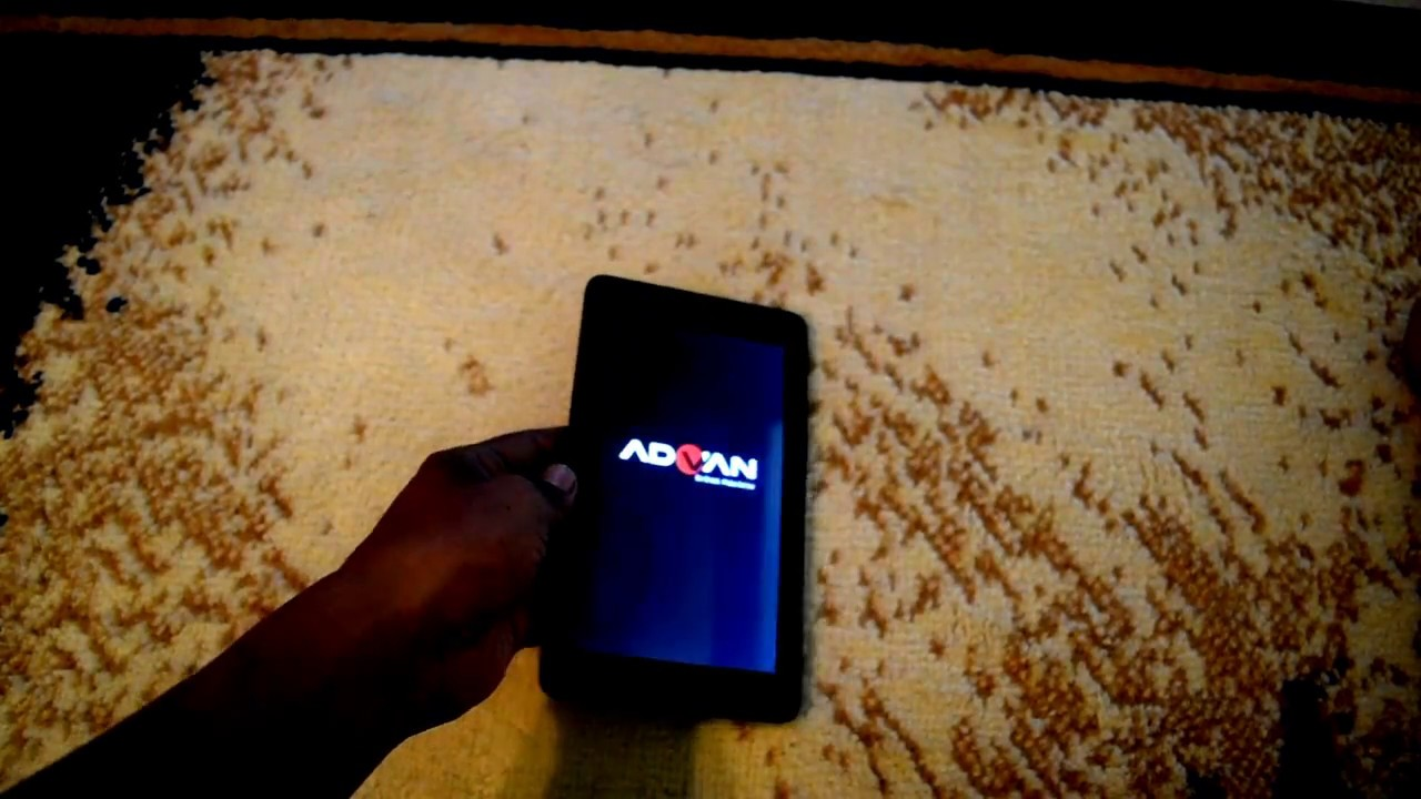 Hard Reset Tablet Advan S7c Youtube