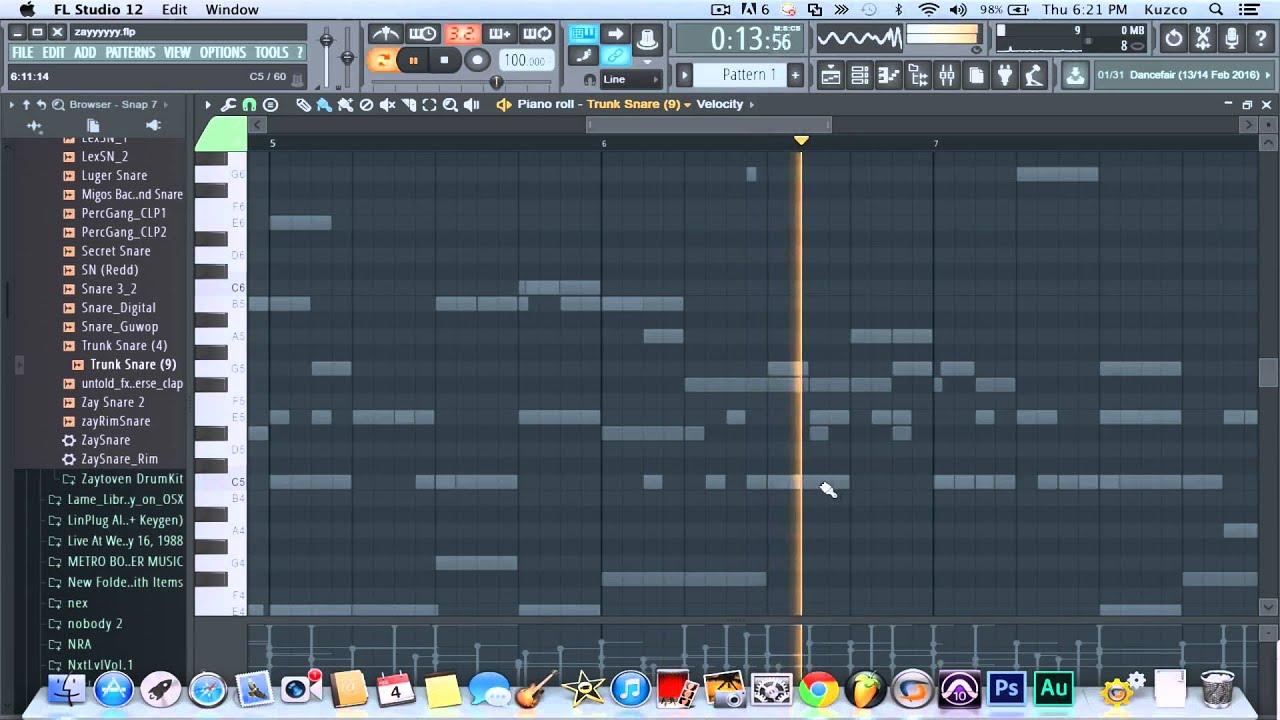 Chief keef type beat fl studio