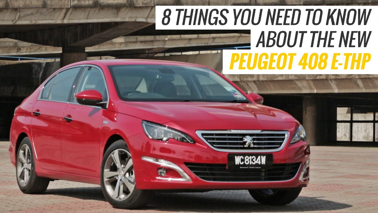 2016 peugeot 408 e-thp: 8 things you need to know - autobuzz.my