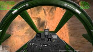 Dogfighting in Warbirds I