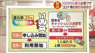 総額2000億円も早い者勝ち!続々登場ポイント獲得術(20/06/29)
