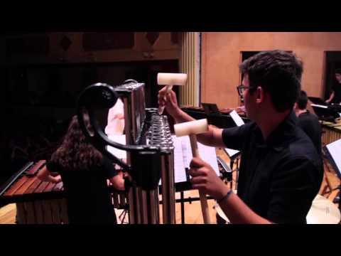 John BECK.- Overture for percussion ensemble.- Alumnado PercuFest 2015 dirigido por Josep Furió