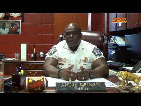 Macon Co., AL Sheriff Brunson on Sterling/Castile shootings