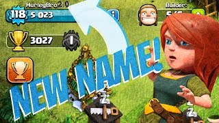 clash of clans   how to change your name   new clash of clans update feature