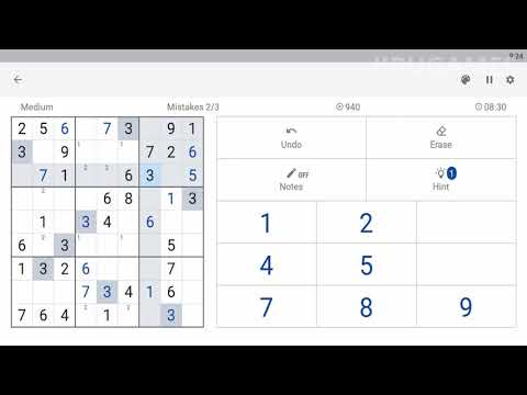 Sudoku.com - Free Game Android Gameplay