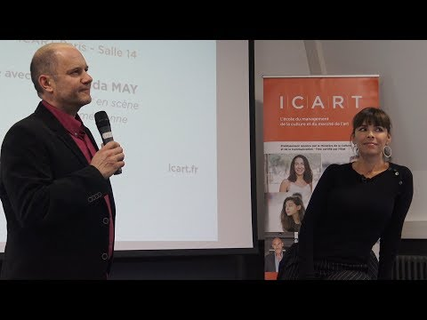Masterclass avec Mathilda May à l'Icart Paris, 17 novembre 2017