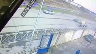 В ДТП на ул. Промышленной пострадал мужчин