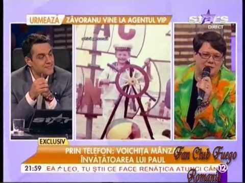 "FUEGO - sărbătorit la ""Agentul VIP"" (Antena Stars, 25 iulie 2014)"