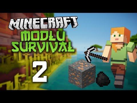 Minecraft Modlu Survival Bölüm 2 - Madene İndim