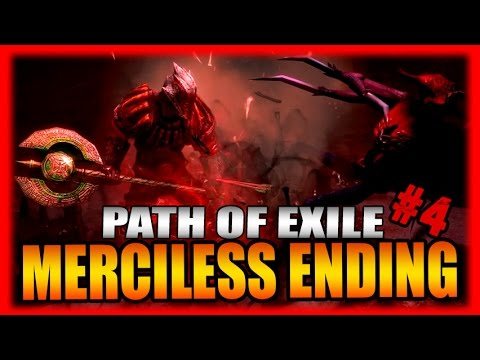 Merciless Ending + Legacy League, Maps, and Earthquake Build Impressions! Path of Exile Part 4