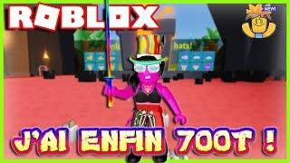 J'AI ENFIN 700T ! | Roblox Unboxing Simulator