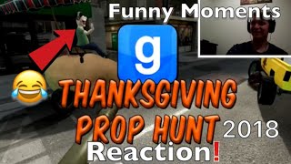 Vanossgaming Gmod Prop Hunt Funny Moments Thanksgiving Parade 2018! Reaction