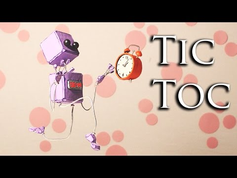 Tic Toc. A Stop motion Animation by Guldies