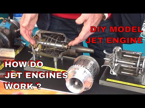 DuB-EnG: JET Engines How They Work - Gas Turbines Midlands Model Engineering Exhibition Meridienne