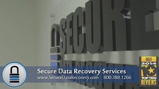 Secure Data Recovery Services - The Industry Leader in Data Recovery Services