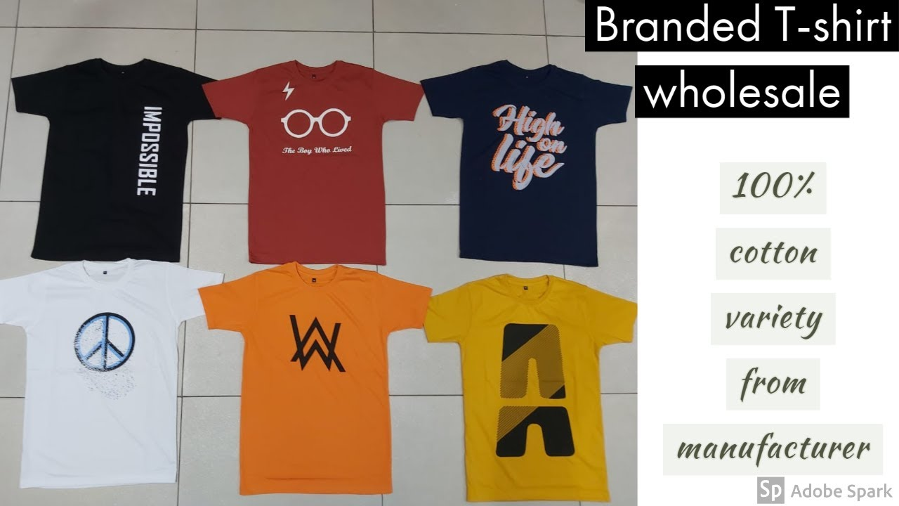 Branded t-shirt factory price | Wholesale | Manufacturer Gandhi nagar | latest  trendy collection