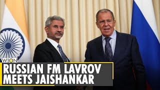 Russian foreign minister Sergey Lavrov meets Indian counterpart Jaishankar| English World News |WION