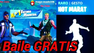 "😮*NUEVO*😱 BAILE ¡GRATIS! ""Hot Marat"" Y Fortnite:Battle royale 