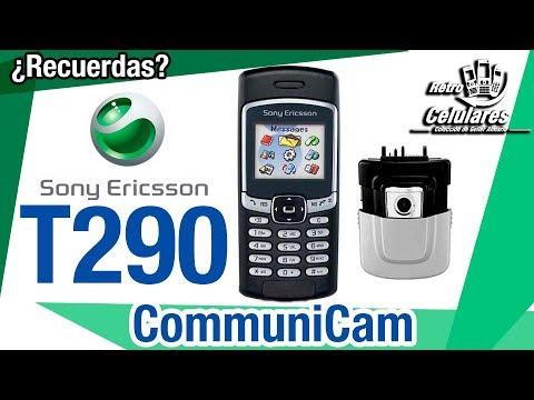 Recuerda SONY ERICSSON T290 un Clásico con Camara externa CommuniCam Retro celulares