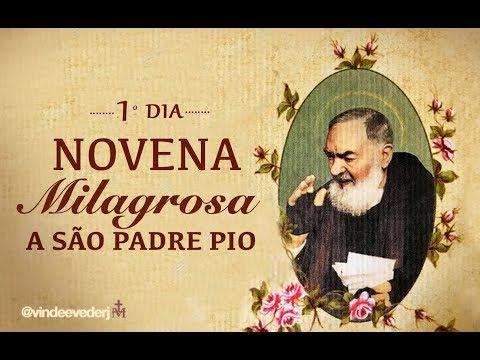1 dia   Novena São Padre Pio
