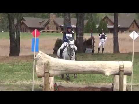 Liz Halliday Sharp & HHS Cooley The Fork CIC 3 Star April 2015