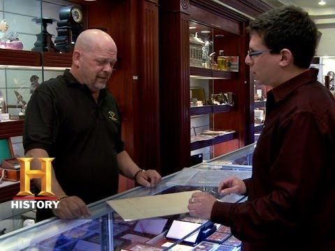 Pawn Stars: King George III Signed Taxation Document