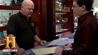 Pawn Stars: King George III Signed Taxation Document | History