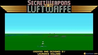 Secret Weapons of The Luftwaffe gameplay (PC Game, 1991)
