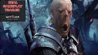 Настоящий Геймплейный Трейлер/ Real Gameplay Trailer/ The Witcher 3