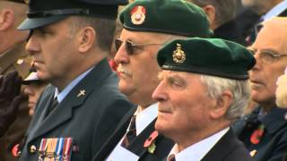 Britain remembers its war dead
