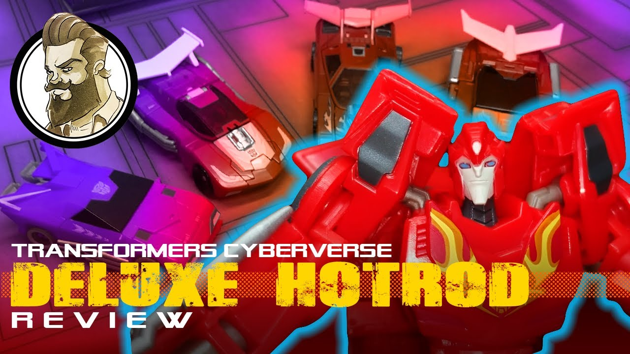 Cyberverse Deluxe HotRod Review By Ham Man