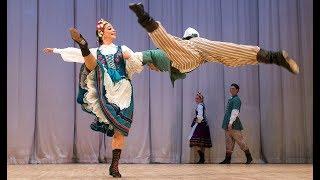 """Польский танец """"Оберек"""". ГААНТ имени Игоря Моисеева."""