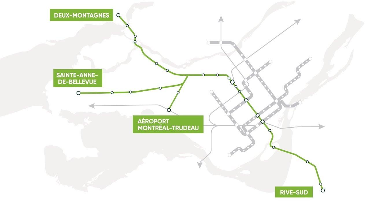 Le Réseau express métropolitain est lancé
