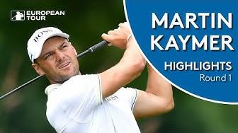 Martin Kaymer Highlights | Round 1 | 2019 BMW International Open