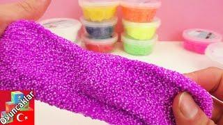 Oyun Hamuru Videoları Türkçe: Foam Clay - Slime Gibi Oyun Hamuru - Unboxing!