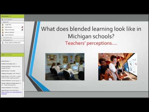 MVLRI Webinar - Professional Learning for Blended Education in Michigan (April 12, 2017)