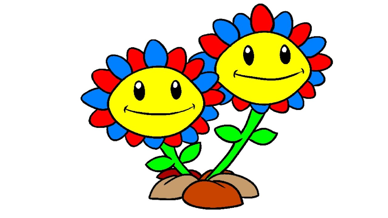 plants vs zombies coloring pages sunflower coloring book