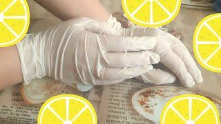 Домашний пилинг рук с кислотами Осветляющая маска для рук