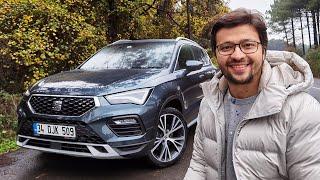 Seat Ateca Test Sürüşü - Peugeot 3008den 150 Bin TL Daha Ucuz